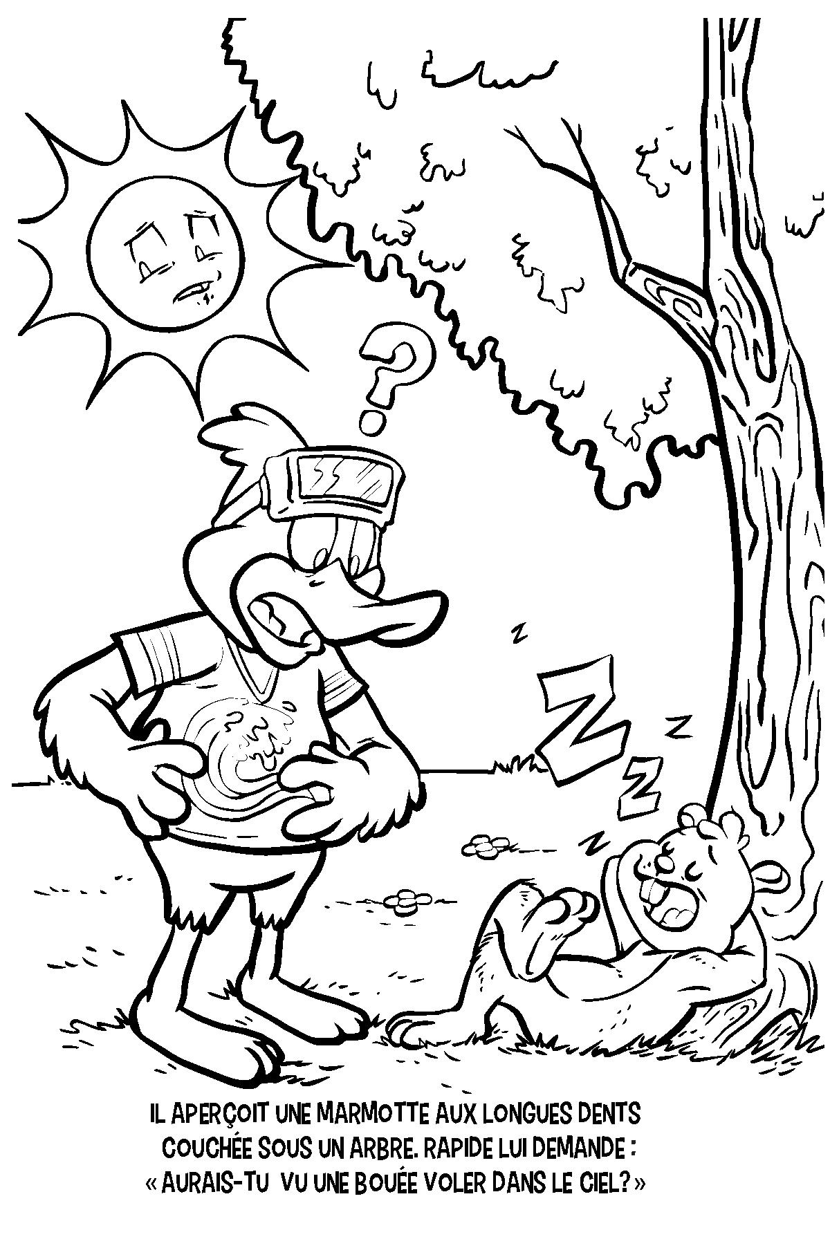 Conte A Colorier Page 06